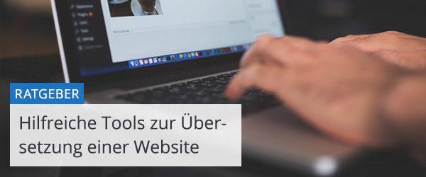 Tools zur Übersetzung einer Website