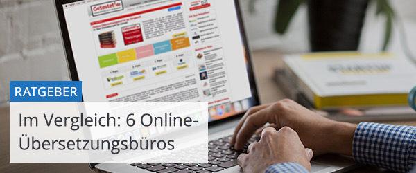 Online-Übersetzungsbüros im Vergleich